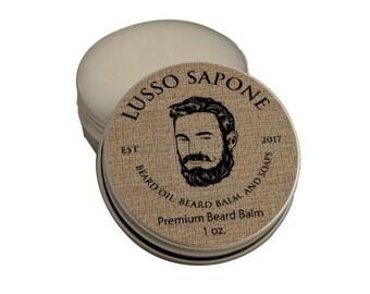 Beard Balm, 1 oz  (scent options)