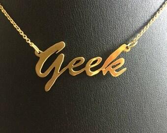 "16"" 'Geek' necklace"