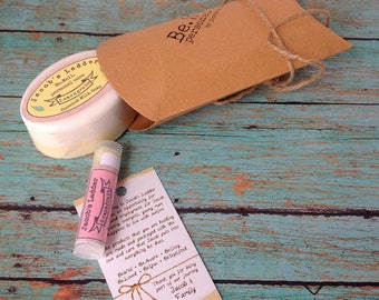 Mini Gift Pack - Paraben/Sulfate Soap and Lip Balm