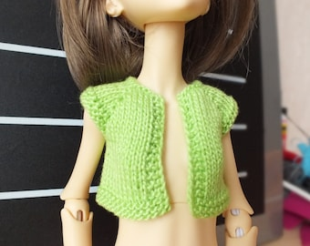 SALE! Handmade knitted Doll Chateau Kid BJD slim MSD bolero jacket