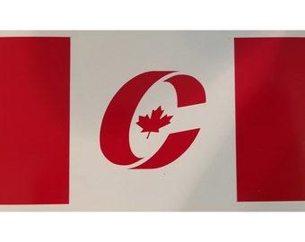 Conservative Flag Vinyl Decal