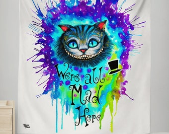 Pixie Cheshire Cat Wall Tapestry