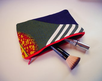 Hand sewn pencil case pouch