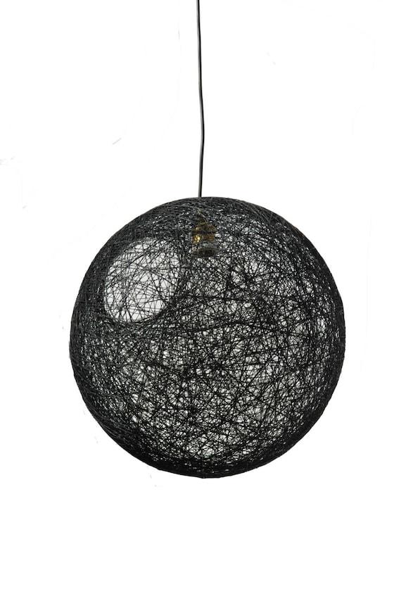 Black sphere pendant light modern pendant lamp designing like this item aloadofball Images