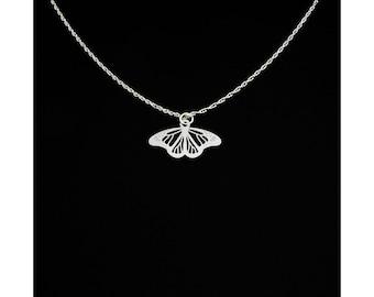 Monarch Butterfly Necklace - Monarch Butterfly Jewelry - Monarch Butterfly Gift