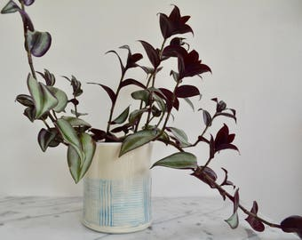 Ceramic Planter, Ceramic Plant Pot, gift for plant lover