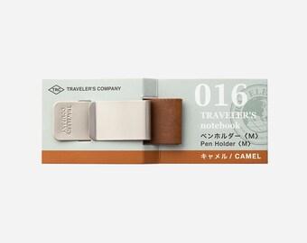 Travelers Factory TFA Traveler's Notebook Pen Holder <M> CAMEL