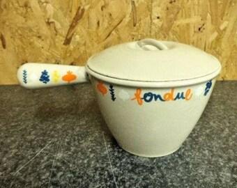 Le Creuset Pan, Le Creuset Saucepan, Vintage Le Creuset, Milk Pan, Cast iron Cookware, Rare Le Creuset, 16cm (Ref 267)