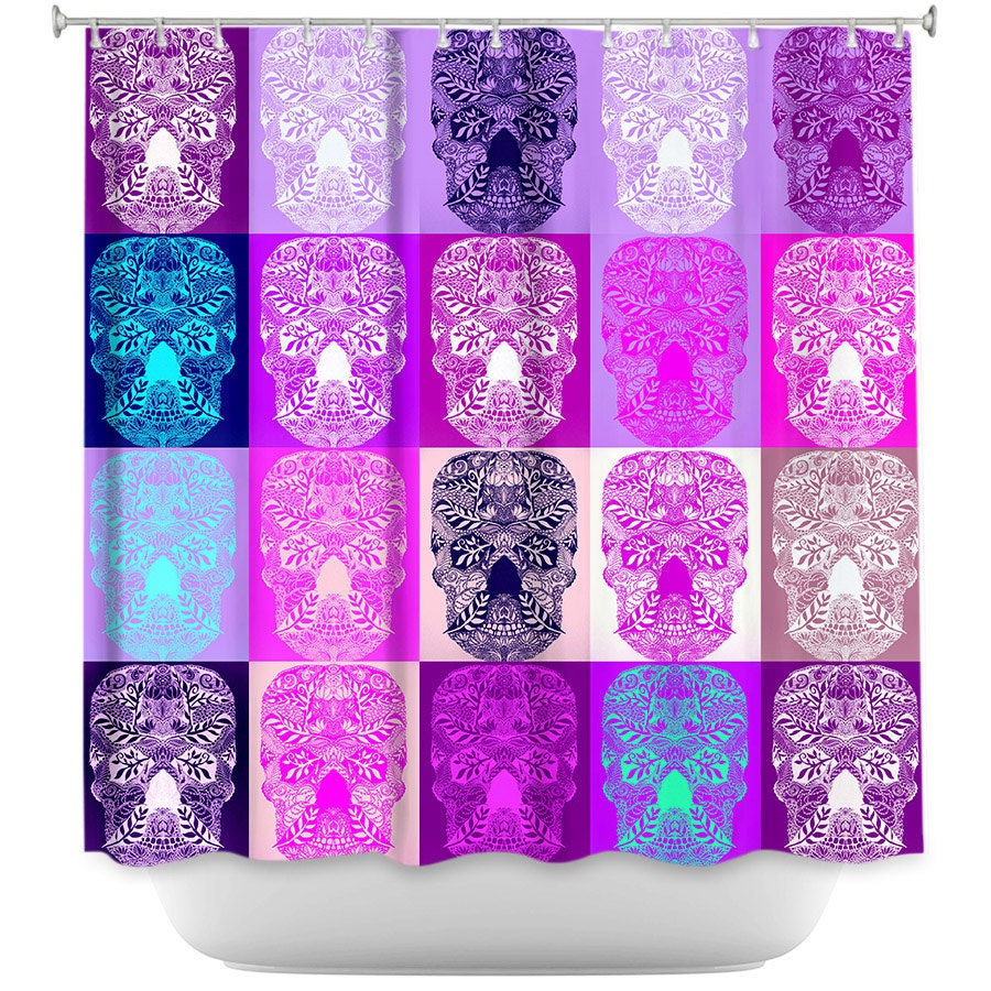 Outstanding Purple And Teal Shower Curtain Images - Best ...