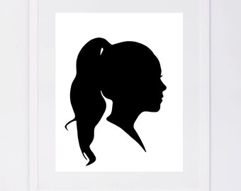 As seen in Good Housekeeping, Custom Silhouette Printable