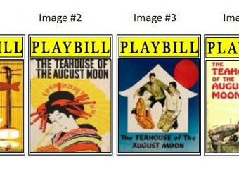 Theater / Show Charm - Playbill Play bill  - The Teahouse of the August Moon