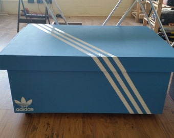 XL Giant Trainer / Sneaker Storage Box, Adidas, Gift For Him, Birthday  Present