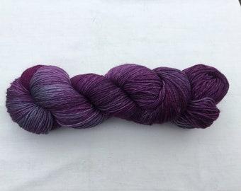 Hand Dyed Superwash Merino 4ply wool
