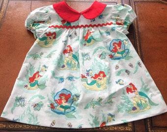 Peter Pan Collar Dress for Toddler Girl