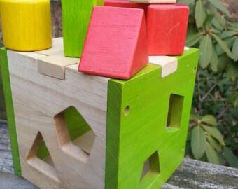 EverEarth, Wood Toy, Wood Blocks, Wood Puzzle