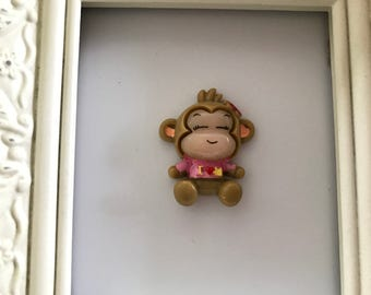 Cutest Monkey Needle Minder