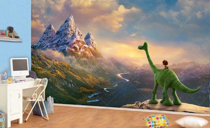 The Good Dinosaur Wall Mural Vinyl Wallpaper