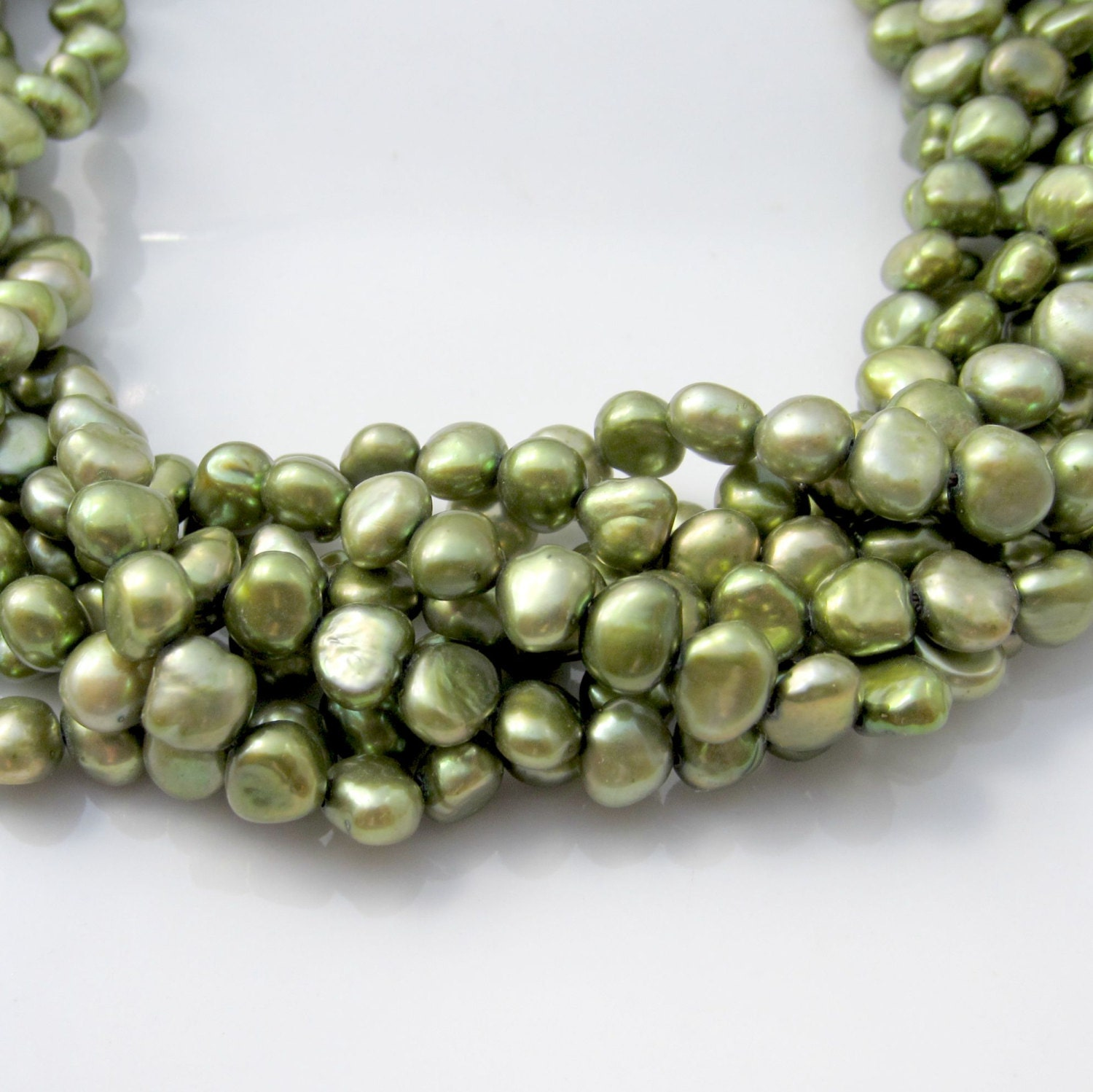 shop wire pod the pearls peas choose number hand pendants of pearl in green wrapped