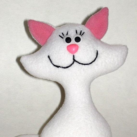 cat sewing pattern, cat Pattern, pattern cats, pattern, cat soft toy ...