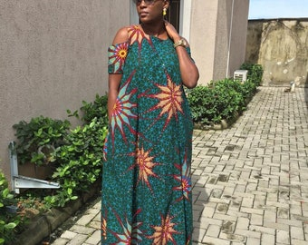 Ankara Dress, African Print Dress, Kente Dress