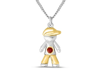 fingerprint or products personalised girl boy little silver jewellery in necklace home