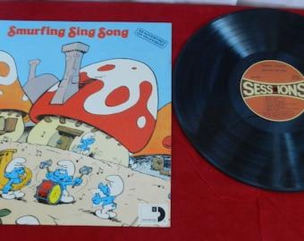 Record Smurfing Sing Song Vinyl