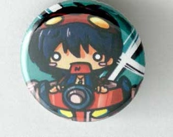 Gurren Lagann- Simon Button