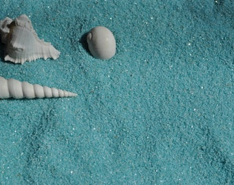 Pastel Blue Dyed Sand