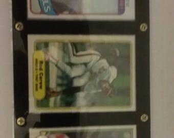 Rod Carew Lot of 3 Cards In A Screwdown Display