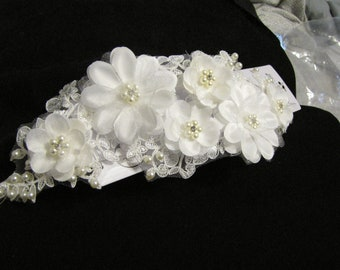 Bridal-Wedding-Jessica McClintock-Hair Accessory-New-White-Pearls