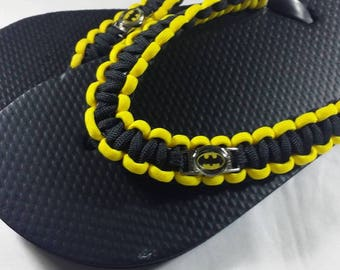 Batman paracord flip flops