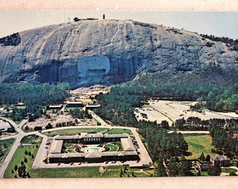 Vintage Postcard Stone Mountain Atlanta GA Stone Mountain Inn Georgia