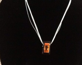 Orange Necklace .. Gift..mothers day..for her.