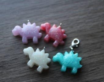 Kawaii Resin Dino Charms/Necklaces/Keychains