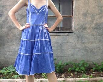 Swiss Dot Sun Dress