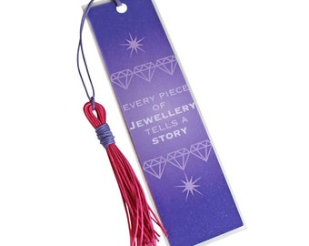 Every Piece of Jewellery Tells A Story Bookmark