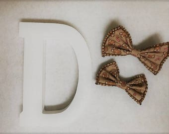 Ginger Snap Bow Tie