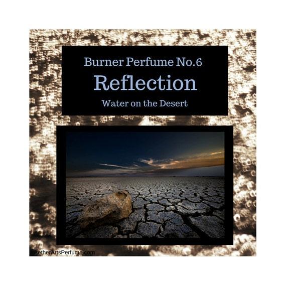 Burner Perfume No.6: Water on the Desert an Atmospheric Scent Portrait of a Desert Thunder Storm & smell of Rain