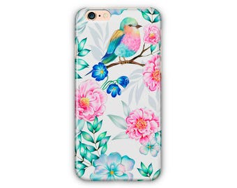 Floral Phone Case for iPhone 8 / iPhone 7 / 7Plus, iPhone 6/6Plus iPhone5 Samsung Galaxy S7/7 edge / S6 / S6 edge/S5