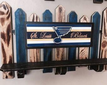St. Louis Blues Fence