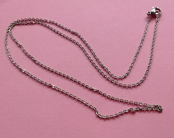 """1 Necklace Stainless Steel 20"""" Cable Chain - NSS2234"""