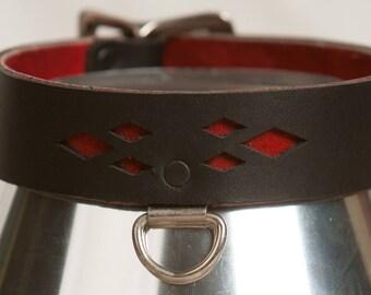 Fashion Collar, Small Mixed Diamond Cut Pattern