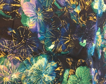 Burst of Flowers weighted blanket/Adult weighted blanket/calming/Autism/Anxieties/Aspergers/PTSD/ADHD/Sensory/