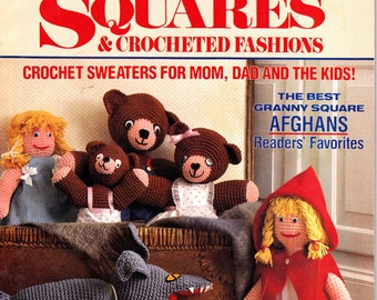Vintage Woman's Day Super Special Granny Square Magazine September, 1988