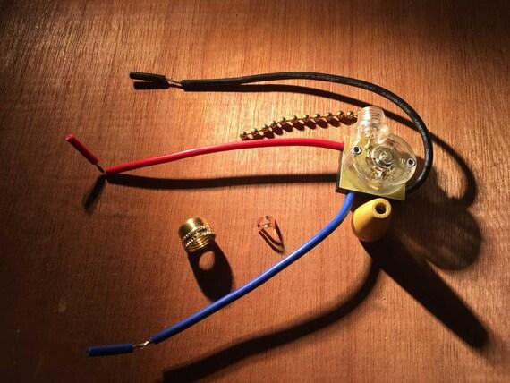 3a 250V Decke Fan 3 Drähte Beleuchtung ziehen Kette Schalter