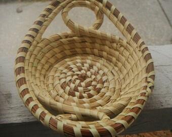 Gullah Sweetgrass Basket ( Small Tray )