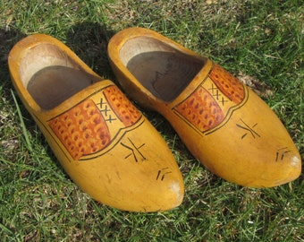Authentic Dutch Wooden Shoes