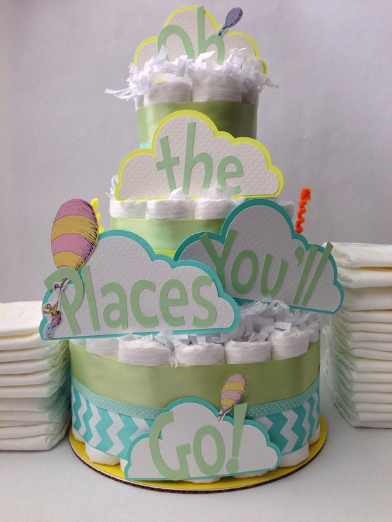 Oh Baby The Places Youll Go Cake