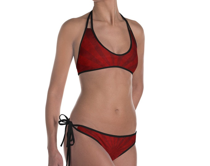 Swirl Stripe Bikini