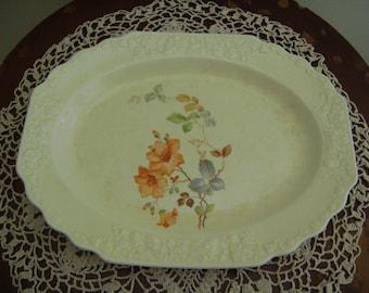 Vintage W. S. George 127A Oval Platter